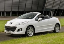 New Peugeot 207 CC Convertible Petrol 2 Doors