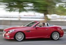 New Mercedes-Benz SLK Convertible Petrol 2 Doors