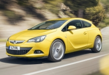 New Vauxhall Astra GTC Coupe Petrol 3 Doors