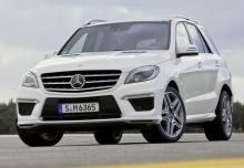 New Mercedes-Benz M-Class 4x4 Petrol 5 Doors
