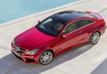New Mercedes-Benz E-Class Coupe Diesel 2 Doors