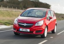 New Vauxhall Meriva MPV Petrol 5 Doors