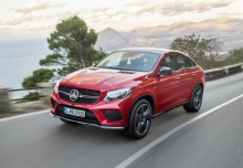 New Mercedes-Benz GLE Class Coupe Diesel 4 Doors