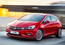 New Vauxhall Astra Hatchback Diesel 5 Doors