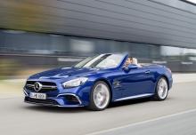 New Mercedes-Benz SL-Class Convertible Petrol 2 Doors