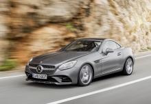 New Mercedes-Benz SLC Cabriolet Diesel 2 Doors